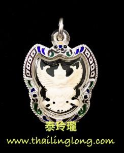 Y06 屈璽米-- 龍婆安 2560 鷹神 大型動物牙 細模 (手雕版)