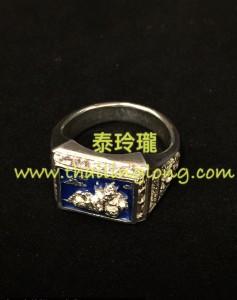 AC02 屈實萬-- 大法會 2551 鍍銀龍也 象神 (戒指)