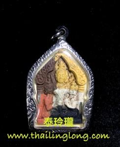 J10 屈史林勇-- 龍婆KEY 2551 坤平後incool (五色彩泥經粉版)